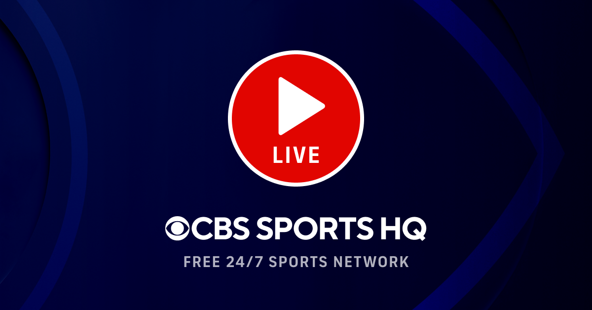 Watch CBS Sports HQ Online - Free Live Stream & News